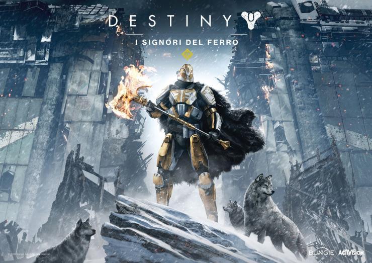 Destiny I signori del ferro dal 20 settembre.