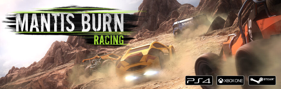 Mantis Burn Racing 4K nativo e 60fps su PS4PRO