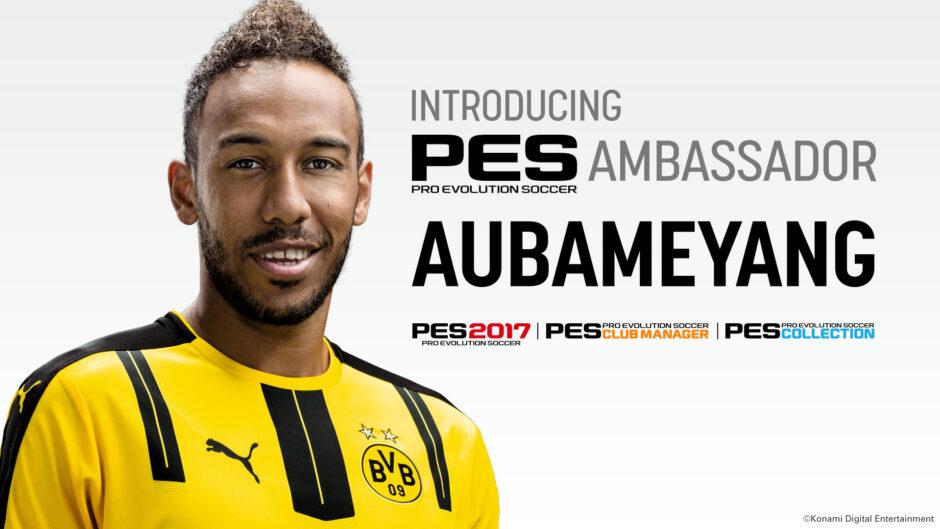 Aubameyang è l'Ambassador di PES LEAGUE