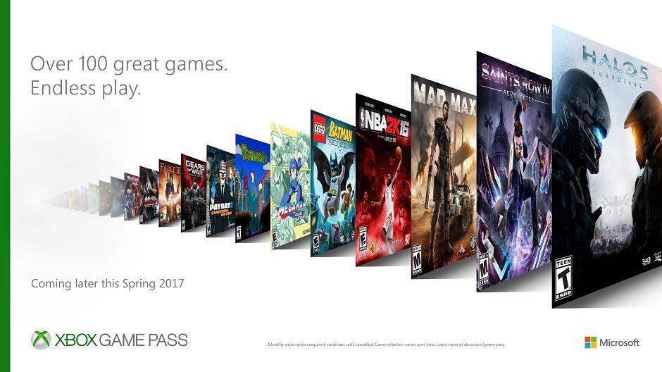 In arrivo il servizio Xbox Game Pass !