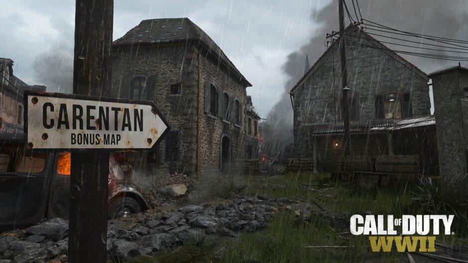 Carentan, mappa Bonus con il Season Pass di Call of Duty WWII