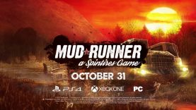 Spintires: MudRunner guardate l'epico trailer di lancio