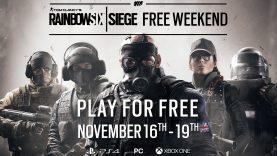 Ubisoft annuncia il Free Weekend di Tom Clancy's Rainbow Six Siege dal 16 al 19 novembre