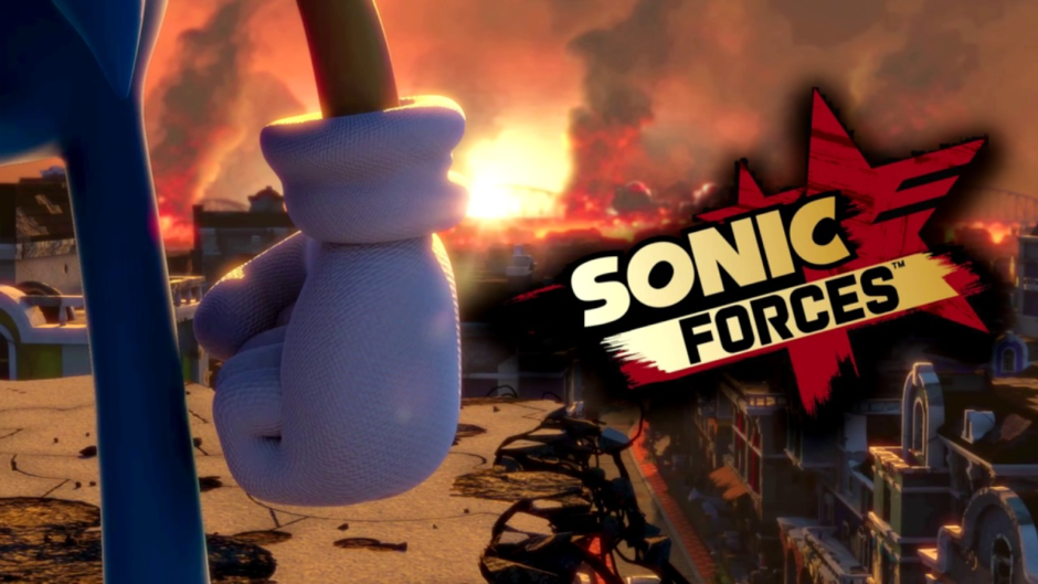 Sonic Forces propaganda video