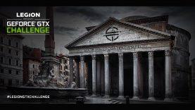Lenovo Legion presenta la GeForce GTX Challenge