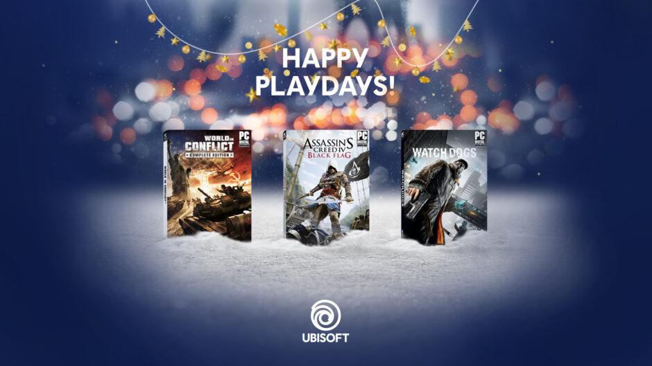 Ubisoft estende i suoi Happy Playdays regalando alcuni giochi digitali per PC