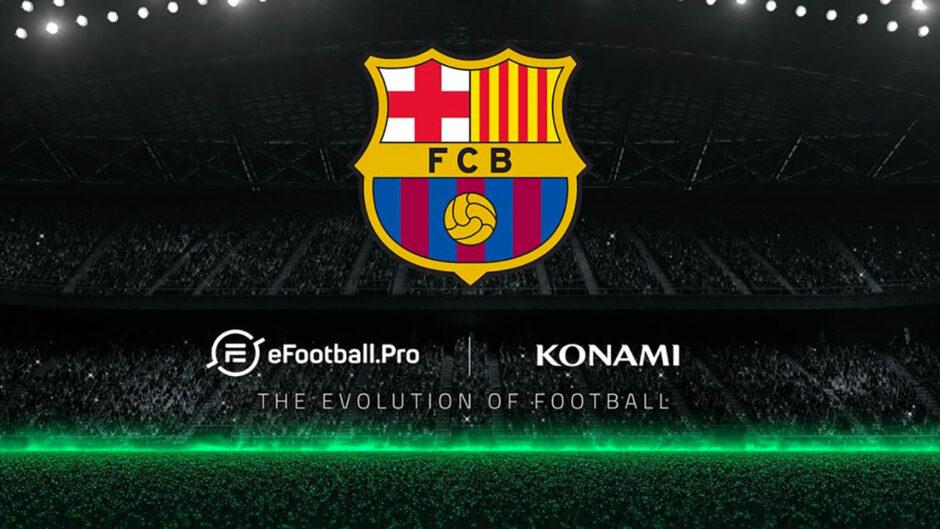FC Barcelona prenderà parte al campionato eSport di KONAMI e eFootball.Pro