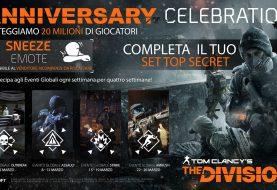 Tom clancy's the division celebra il suo secondo anniversario con  20 milioni di giocatori