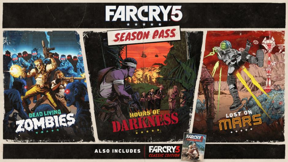 Ubisoft svela i dettagli post lancio di Far Cry 5 con il Season Pass e i contenuti gratuiti