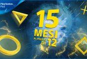 PlayStation plus rilancia la promozione 15x12