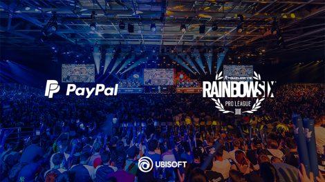 Ubisoft e paypal partner per la tom clancy's rainbow six pro league e i majors