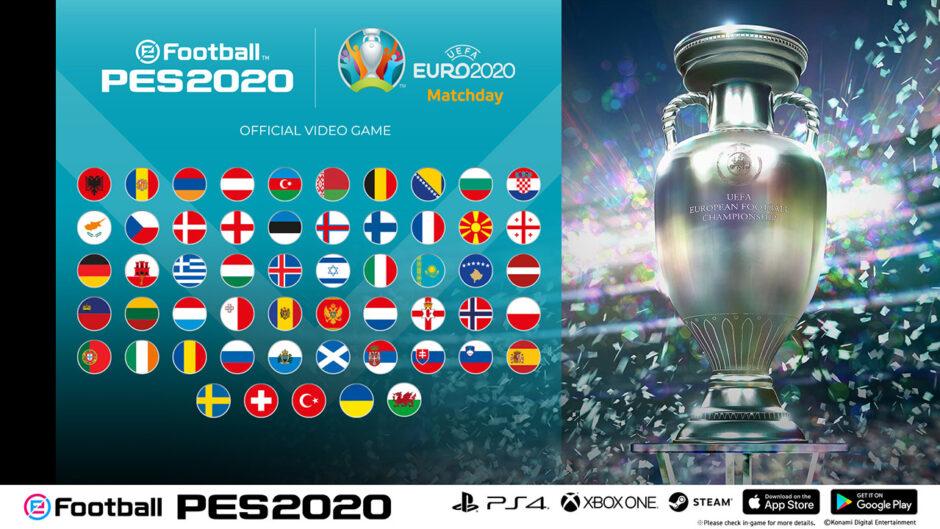 """Annuncia l'evento online """"UEFA EURO 2020"""" per le piattaforme console e mobile"""