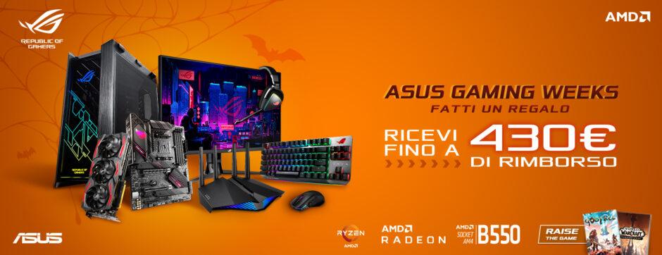 ASUS Gaming Weeks: è ora di cambiare hardware!