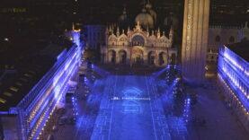 PS5 incontra piazza San Marco a Venezia
