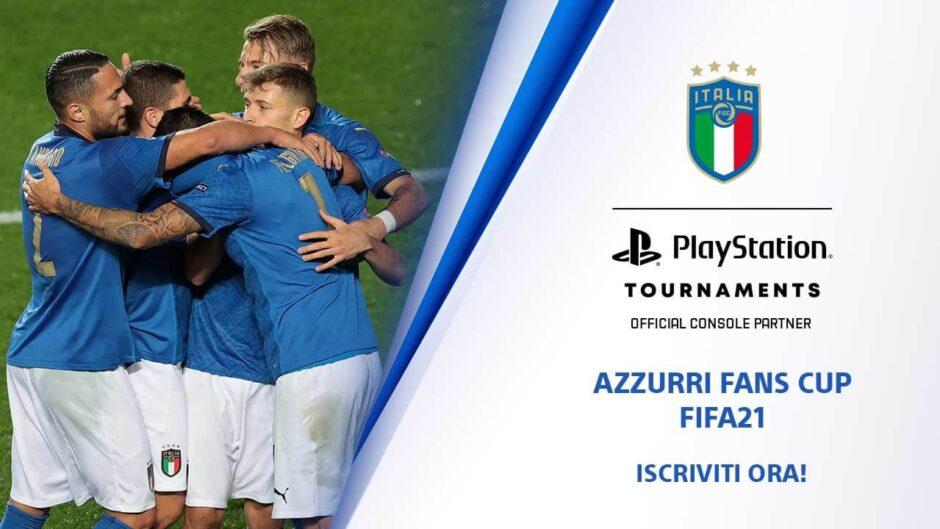 Playstation partner della nazionale Italiana